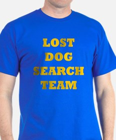 LOST DOG SEARCH TEAM T-Shirt