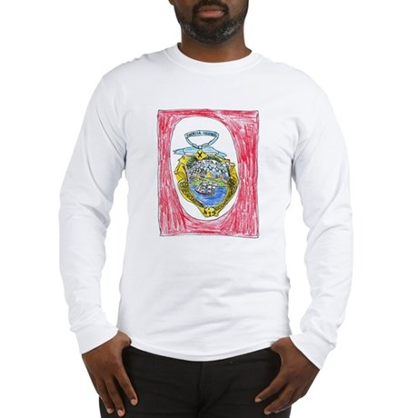 Costa Rica Emblem Long Sleeve T-Shirt
