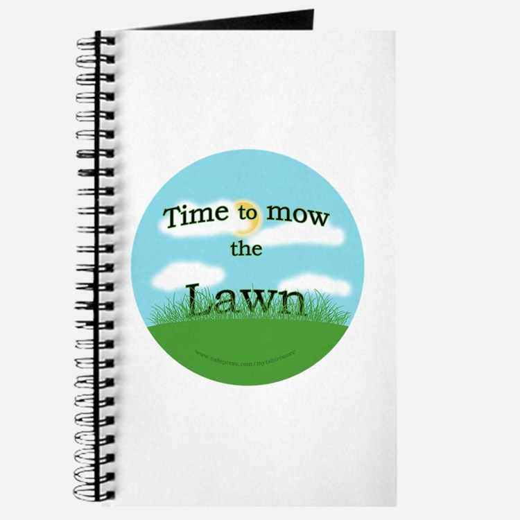 Time to Mow the Lawn Journal