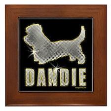 Bling Dandie Framed Tile