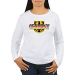 Germany Coat of Arms Women's Long Sleeve T-Shirt