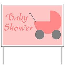 baby girl shower sign