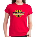 Germany Coat of Arms Women's Dark T-Shirt