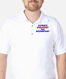 World's Greatest Tax A.. (A) Golf Shirt
