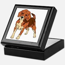 Beagle Keepsake Box