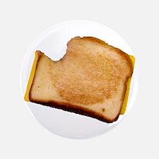 "Plain Grilled Cheese Sandwich 3.5"" Button"