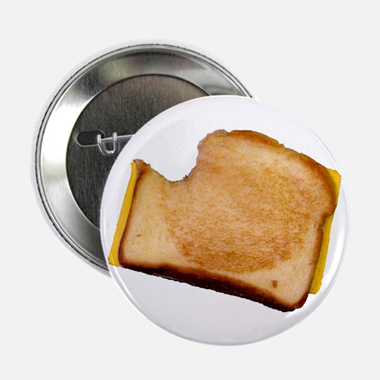 "Plain Grilled Cheese Sandwich 2.25"" Button"