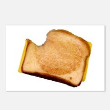 Plain Grilled Cheese Sandwich Postcards (Package o