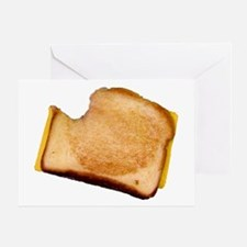 Plain Grilled Cheese Sandwich Greeting Card