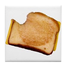 Plain Grilled Cheese Sandwich Tile Coaster