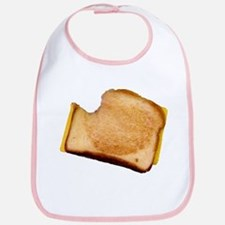 Plain Grilled Cheese Sandwich Bib