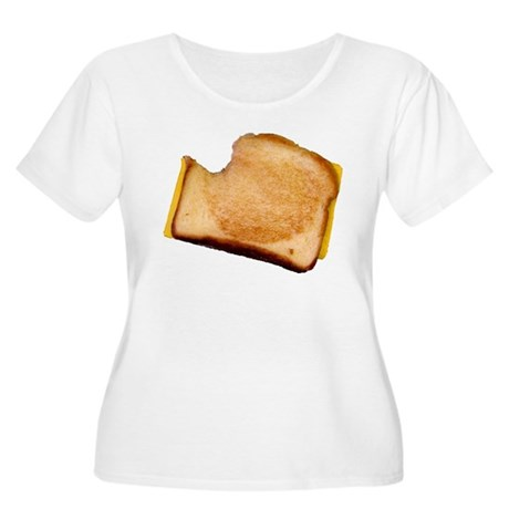 Plain Grilled Cheese Sandwich Women's Plus Size Sc