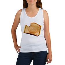 Plain Grilled Cheese Sandwich Women's Tank Top
