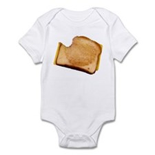 Plain Grilled Cheese Sandwich Infant Bodysuit