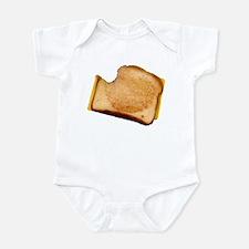 Plain Grilled Cheese Sandwich Onesie