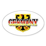 Germany Coat of Arms Sticker (Oval)