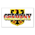 Germany Coat of Arms Sticker (Rectangle)