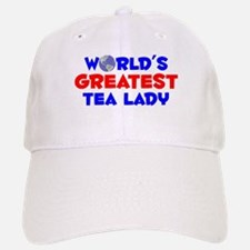 World's Greatest Tea l.. (A) Baseball Baseball Cap