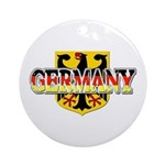 Germany Coat of Arms Ornament (Round)