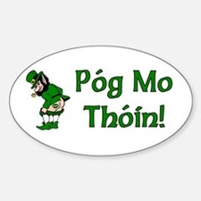 Pog Mo Thoin Oval Decal