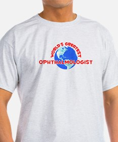 World's Greatest Ophth.. (F) T-Shirt