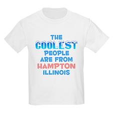 Coolest: Hampton, IL T-Shirt
