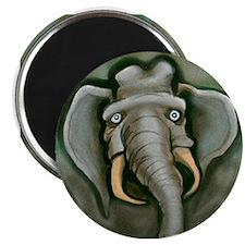 Unique Republican elephant art Magnet
