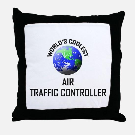 World's Coolest AIR TRAFFIC CONTROLLER Throw Pillo