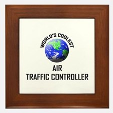 World's Coolest AIR TRAFFIC CONTROLLER Framed Tile