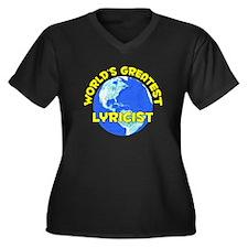 World's Greatest Lyric.. (D) Women's Plus Size V-N