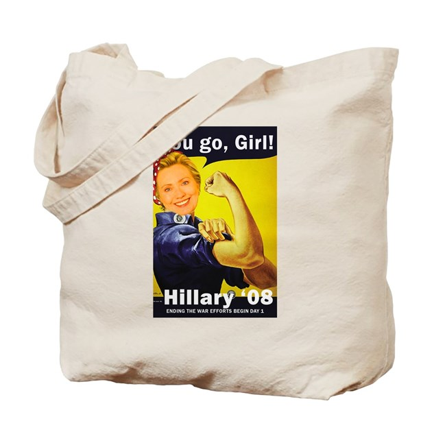 You Go Girl Tote Bag By Eatpeace
