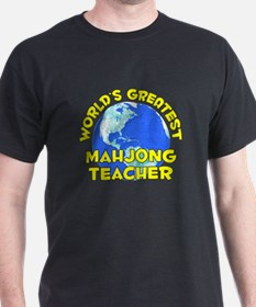 World's Greatest Mahjo.. (D) T-Shirt