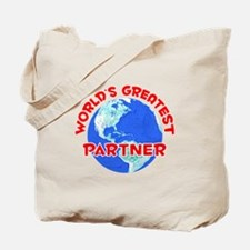 World's Greatest Partner (F) Tote Bag