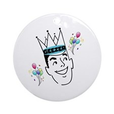 Geezer Birthday Ornament (Round)