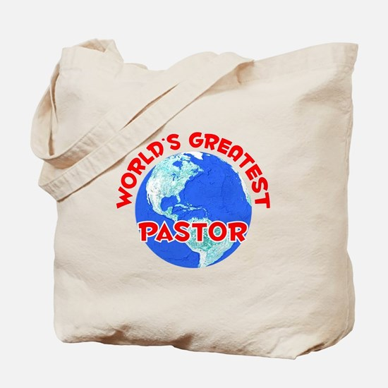 World's Greatest Pastor (F) Tote Bag
