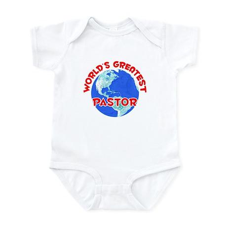 World's Greatest Pastor (F) Infant Bodysuit