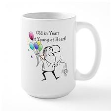 Young at Heart Birthday Mug