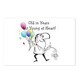 70th birthday mens Postcards