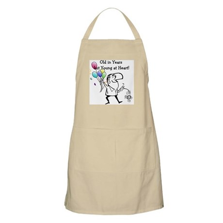 Young at Heart Birthday BBQ Apron