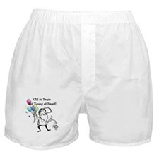 Young at Heart Birthday Boxer Shorts