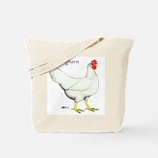 Leghorn White Hen Tote Bag