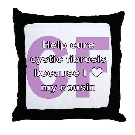 *heart* cousin Throw Pillow