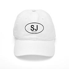 "Saint John ""SJ"" Oval Baseball Cap"