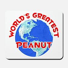 World's Greatest Peanut (F) Mousepad