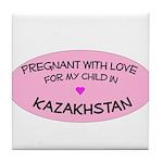Kazakhstan Adoption Tile Coaster