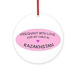 Kazakhstan Adoption Ornament (Round)