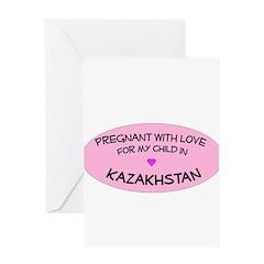 Kazakhstan Adoption Greeting Card