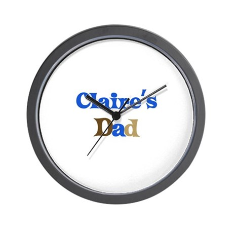 Claire's Dad Wall Clock