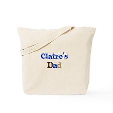 Claire's Dad Tote Bag