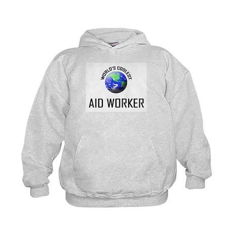 World's Coolest AID WORKER Kids Hoodie